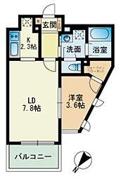 ビエネスタ千代県庁口[9階]の間取り