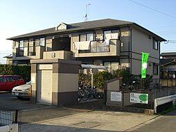 福岡県糸島市高田4丁目の賃貸アパートの外観