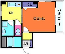 ダイコーパレス[4階]の間取り