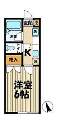 メゾン鎌倉[1階]の間取り