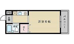 ラ・フォーレ大桐[5階]の間取り