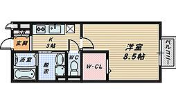 シャルト[2階]の間取り