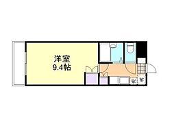 倉敷ライフ・キャンパス C棟[402号室]の間取り