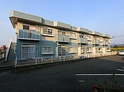サンヒルズ上津[2階]の外観