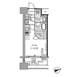 JR総武線 御茶ノ水駅 徒歩5分の賃貸マンション 7階ワンルームの間取り