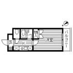 フローラル宮崎台[1階]の間取り