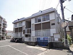 埼玉県草加市谷塚上町の賃貸アパートの外観