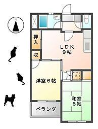 新宿ビル[403号室]の間取り