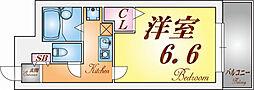 ルミエール須磨北[3階]の間取り