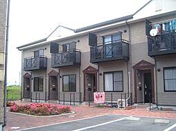岐阜県美濃加茂市加茂野町稲辺の賃貸アパートの外観