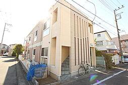 神奈川県平塚市黒部丘の賃貸アパートの外観