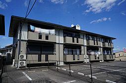 栃木県宇都宮市駒生町の賃貸アパートの外観