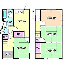 [一戸建] 大阪府枚方市長尾元町7丁目 の賃貸【/】の間取り