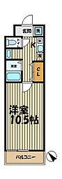YAMASHIN・北鎌倉[203号室]の間取り