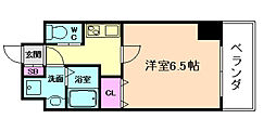 ララプレイス京町堀プロムナード[10階]の間取り