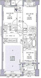 オープンレジデンシア目白台ヒルトップ 3階3LDKの間取り