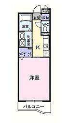 オダンナ ハジメ II[3階]の間取り