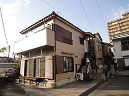 埼玉県八潮市大字南後谷の賃貸アパートの外観