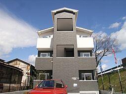 大阪府豊中市小曽根5丁目の賃貸アパートの外観