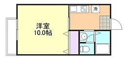 エタニティー安江 B[103号室]の間取り