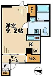 MapleHouse(メイプルハウス)[1階]の間取り