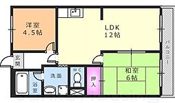 チェリーガーデン[2階]の間取り