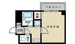 グラン・ピア柴島[5階]の間取り