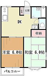 メゾンK[1階]の間取り