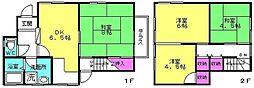 [一戸建] 兵庫県加古郡播磨町二子 の賃貸【/】の間取り