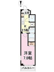 神奈川県川崎市川崎区大師本町の賃貸マンションの間取り