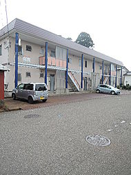 新潟県上越市栄町1丁目の賃貸アパートの外観