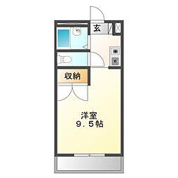 Mh−Arc三蔵子[2階]の間取り