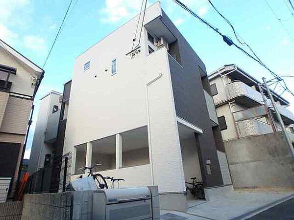 大阪府豊中市螢池北町1丁目の賃貸アパートの外観