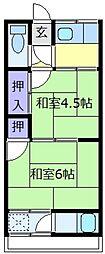 西辻文化[1階]の間取り