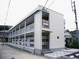 愛知県岡崎市鴨田町字山畔の賃貸アパートの外観