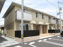 岡山県倉敷市東塚3丁目の賃貸アパートの外観