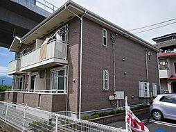 神奈川県海老名市河原口2丁目の賃貸アパートの外観