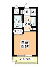 坂戸ダイカンプラザシティ2[2階]の間取り