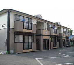 栃木県栃木市片柳町5丁目の賃貸アパートの外観
