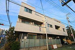 東京都国立市東3丁目の賃貸アパートの外観