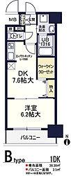 ソラージュ茨木[5階]の間取り