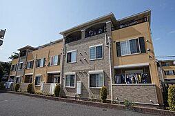 埼玉県川越市むさし野の賃貸アパートの外観