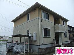 愛知県みよし市三好町平池の賃貸アパートの外観