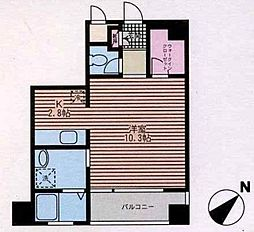 DECOBLD(デコビル)[1階]の間取り