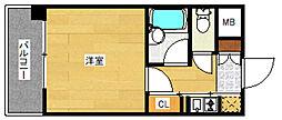 ピュアドームリブレ薬院[5階]の間取り