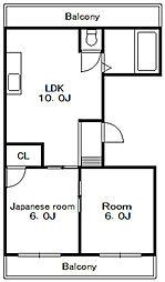 太田ビル[3階]の間取り