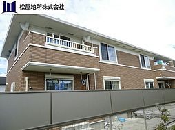 愛知県豊橋市牛川通2丁目の賃貸アパートの外観