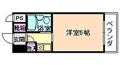 グローバル野田[6階]の間取り