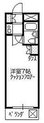 リエス所沢駅南[103号室]の間取り