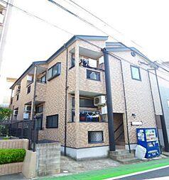 福岡県福岡市早良区西新5丁目の賃貸アパートの外観